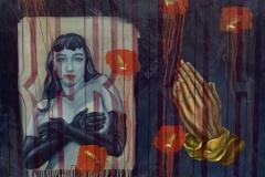 """Rebirth oil on canvas 30""""x40"""" ©1999"""