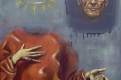 "Heal oil on canvas 38""x48"" ©1999"
