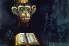 JoeONeillpainting-monkeyhead